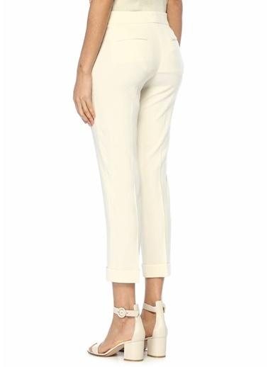 Etro Yüksek Bel Cigarette Pantolon Beyaz